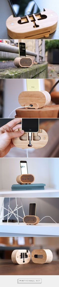 Amplio: Bamboo amplifier inspired by retro radios | Design + - created on 2015-12-01 01:52:58