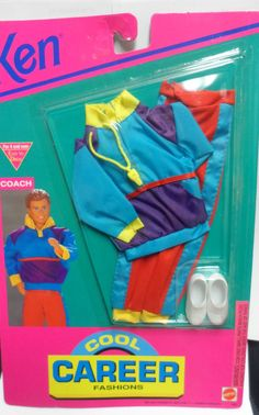 1992 Ken - Coach (Cool Career) #665