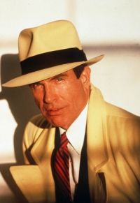 Warren Beatty. I really loved Dick Tracy as a young girl. You can see why! Lol.