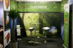 Claybrick - 3m x 3m x 3m  Green Building Council Convention