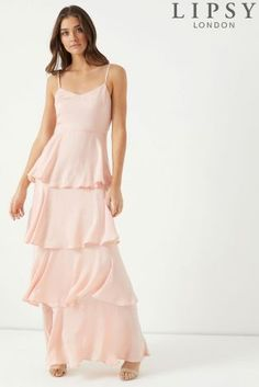 b4052f95adf Buy Lipsy Tiered Cami Maxi Dress from the Next UK online shop