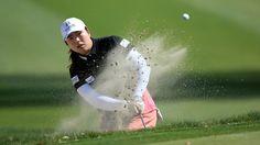 LPGA. Kraft Nabisco Championship. Feng In front.