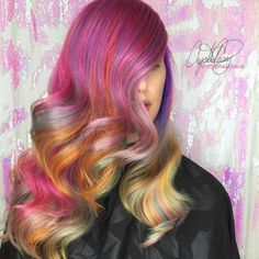This week's Hairstyle of the Week goes to @cryistalchaos for this candy-colored look!  For your chance to be our next featured winner, follow us on Instagram and tag your work with #lpweeklydo!