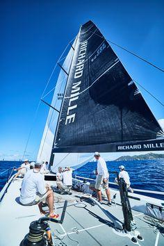 Photo ©MichaelGramm #LesVoilesdeStBarth #Sailing #Race #Sea #Travel #RichardMille