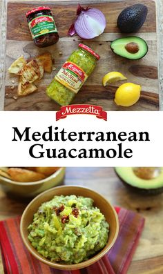 Sun-dried tomatoes and peperoncini add a Mediterranean twist to your typical Guacamole. Learn how to pep up your Cinco de Mayo fiesta with this Mediterranean Guacmole.