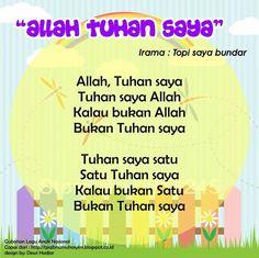 Allah Tuhan Saya (original song Topi Saya Bundar) Islam For Kids, Anime Muslim, Original Song, Kids Songs, Allah, Activities For Kids, Singing, Islamic, Education