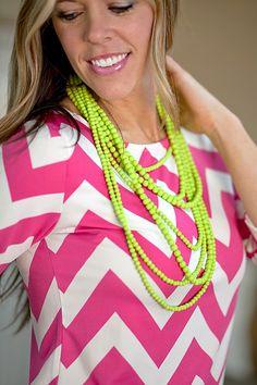 Stranded Statement Necklace - Multiple Color Options