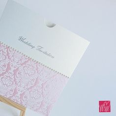 Pretty pink wallet invitations Invites, Wedding Invitations, Pretty In Pink, Wallet, Handmade, Hand Made, Wedding Invitation Cards, Handmade Purses, Purses