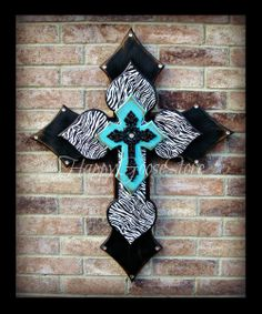XLarge Wall CROSS  4 layers  Antiqued Black & by happygoose, $79.95