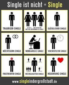 glücklich vergeben an mein single leben