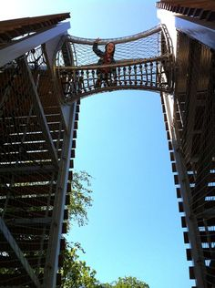 Amsterdam with kids? Don't miss the amazing play structures in Vondelpark. Super cool. Super adventurous. And free!