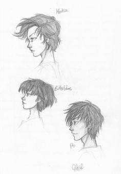 by Rivaldiart.deviantart.com on @deviantART don't know what this is from, but good sketches!