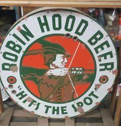 Robin Hood Beer Sign