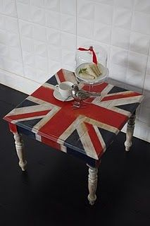 Tea anybody? Awesome! Love this for my union jack friend