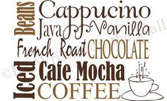 Do you love coffee?   www.itswrittenonthewall.etsy.com