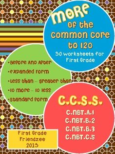math worksheet : freebie! this free download includes printable pages for first  : Free Common Core Math Worksheets For First Grade