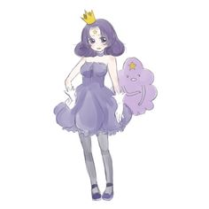 Human Form. Lumpy Space Princess | Adventure Time