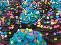 Cup cakes Brigadeirice