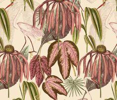 Heron Park fabric by clpourlamaison on Spoonflower - custom fabric