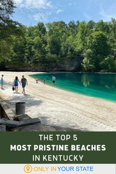 If you're looking to spend the summer swimming and sunbathing at Kentucky's best lake beaches, check out this list of some of our most pristine. | Summer Travel | Day Trips | Family Friendly | Outdoors Midwest Vacations, Best Vacations, Vacation Destinations, Vacation Trips, Vacation Spots, Day Trips, Places To Travel, Places To See, Kentucky Attractions