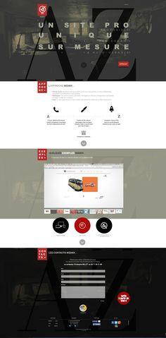 Minimal wisiwix.com Web design