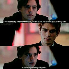 Jughead and Archie #Riverdale
