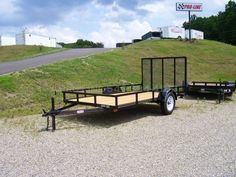 $1100 trailer. I think I could pull this with a four wheeler or similar. Put all campsite gear + water tanks * generators. Pull to campground via car with 4 wheeler on, pull to remote campsite with 4 wheeler for setup?