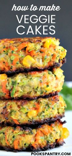 The Original Veggie Cakes Recipe