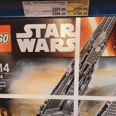 Я не знаю неудач потому что я - ловкач! #legostarwars #lego #kyloren #starwars #supersale by denis_sterkhov