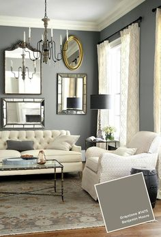 Grey Interiors In Tvoy Designer Blog