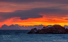 Morning at Sennesvik by hanskrusephotography  Norway Lofoten Sennesvik Morning at Sennesvik hanskrusephotography