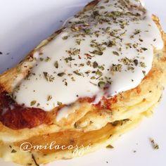Já pensou em um pão de queijo feito na frigideira, super saudável em 14 minutos?