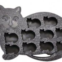 Fairly-Odd-Novelties-Novelty-Gag-Gift-Cat-Kitten-Shape-10-Ice-Cube-Tray-Mold-Rubber-Black-0