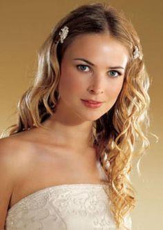 Romantische bruidskapsels voor lang haar [Foto´s]