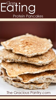 Clean Eating Protein Pancake, shopping list for Trader Joe's.