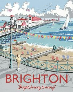 'Brighton' - By Kelly Hall