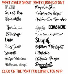 Download A collection of free pretty fonts for Cricut that you can ...