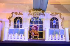 Riley's Royal Prince Themed Party – Stage Princess Theme Birthday, Prince Birthday Party, 7th Birthday, 1st Birthday Decorations, Birthday Party Themes, Royal Theme Party, Crown Party, Beauty And The Beast Party, Baptism Party