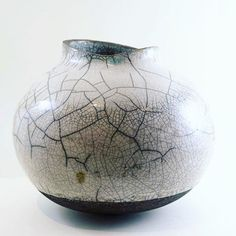 Have you seen the new beautiful sculptural vases by @annikasemler. They are all one of a kind and small art pieces each and every one. This large raku vase is a amazing large and unique piece. #buynoworcrylater #unique #craft #raku #vase #art #ceramic #pottery #madeindenmark #livethelittlethings #ohwowyes #textures #beautiful #handcrafted #handmade #ceramicart #homedecor