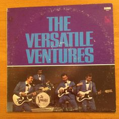 The Ventures Quot Let S Go Quot Rock And Roll Album Cover Art