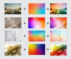 77 Ultra HD Blurred Rainbow Bg by G7 on @creativemarket