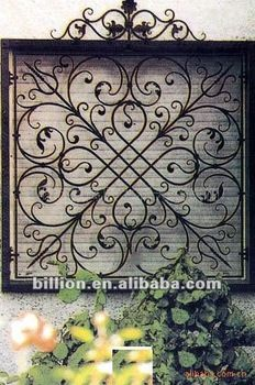2012 manufacture ircast iron window grills for wrought iron window fence railings gates Wrought Iron Decor, Iron Wall Decor, Wrought Iron Gates, Wrought Iron Designs, Iron Windows, Iron Doors, Eco Deco, Iron Window Grill, Window Grill Design