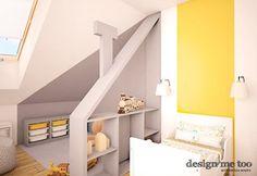 Pokój dziecka styl Nowoczesny - zdjęcie od design me too Kids Room, Toddler Bed, Loft, Furniture, Home Decor, Design, Projects, Child Bed, Room Kids