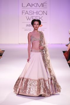 Lengha by Anushree Reddy at Lakme Fashion Week 2014