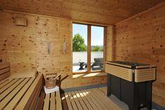 Zirbelholzsauna -  Saunabereich - Hotel Ritter Durbach