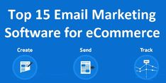 Here are the best email marketing software for small businesses, including low-cost software as well as solutions for e-commerce companies. Best Email Marketing Software, Web Development, Ecommerce, Web Design, Business, Top, Design Web, Store, E Commerce