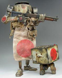"threeA Toys's ""World War Robot: Japan Defense Edition"""