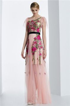 Short sleeve prom dresses winter evening party gown | Short ...