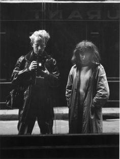 Vali Myers and Ed van der Elsken in Paris 1952