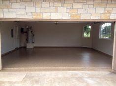 Beautiful Garage Floor in Spring Branch, Texas! #garagefloor #garageremodel